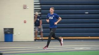 Akron student takes bronze in men's 800 meter