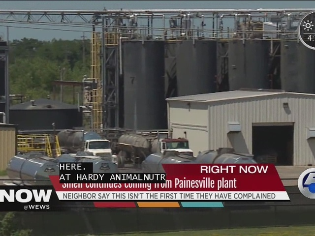 Painesville residents sick of stinky nearby Hardy Animal Nutrition…
