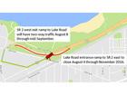 Shoreway reopens at Lake Avenue