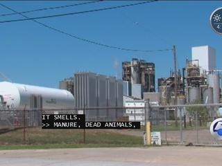 Stinky factory has history of warnings