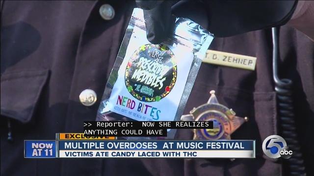 24 hospitalized in drug overdose at Ohio music festival