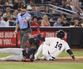 Indians trounced by Yankees in another rout