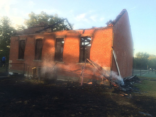 Two teens sentenced for schoolhouse arson