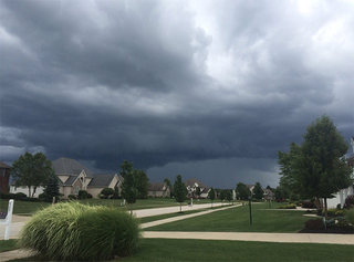 PHOTOS: Storms roll in to Northeast Ohio