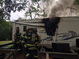 Two dogs die in camper fire in Streetsboro