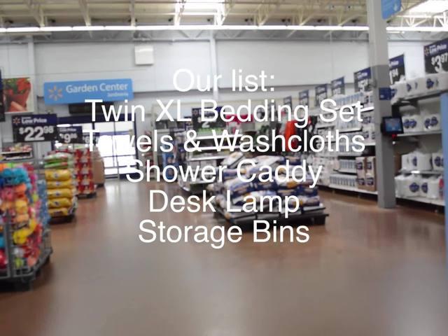 The Back to Dorm Challenge: Target vs. Walmart