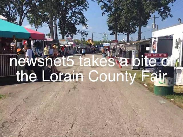 newsnet5 takes a bite out of the Lorain County Fair