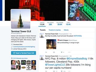 Terminal Tower Twitter account to shut down