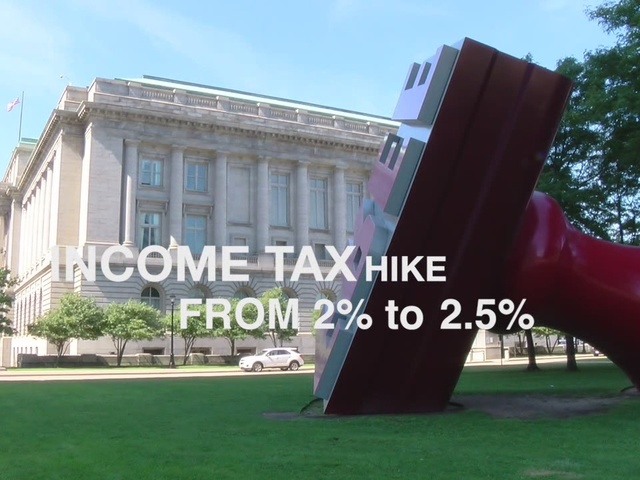 Cleveland voters to decide on raising the city's income tax.