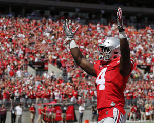 Buckeyes set record with huge win over Falcons