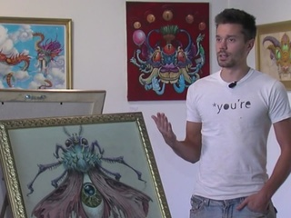 Canton art gallery owner beaten & robbed