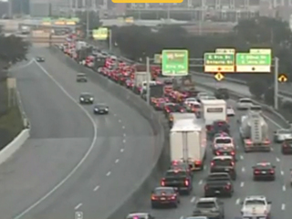 Three-car crash on I-77 on ramp to I-90 cleared