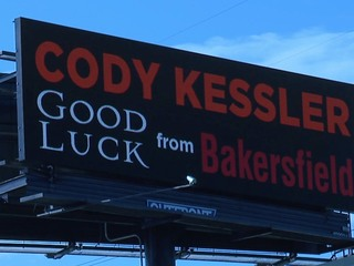 New billboard sends Browns Kessler well wishes