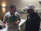 Olympic marathoner visits Akron Children's kids