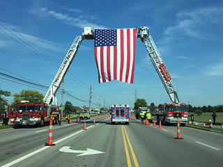 Officers from 19 states honor trooper Velez