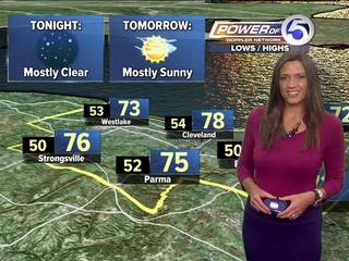 FORECAST: Refreshing and cool air arrives!