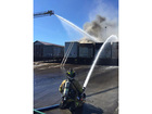 Multiple trailers catch fire in Twinsburg