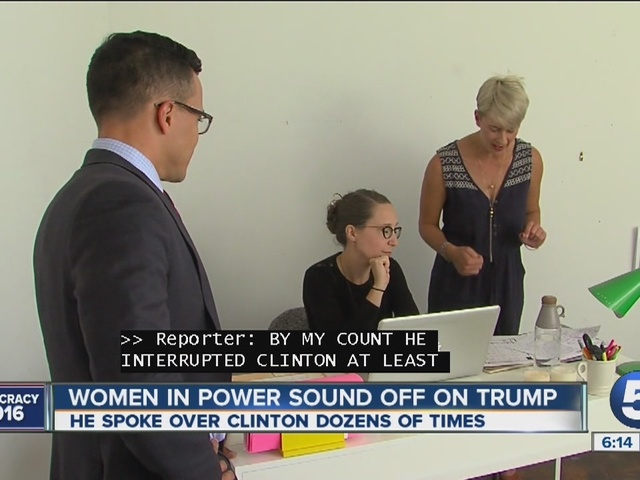 6pm: Women in power sound off on Trump