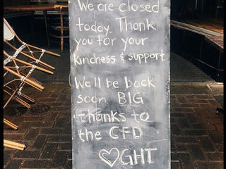 Greenhouse Tavern temporarily closes after fire