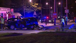 Four injured in rollover crash in Cleveland