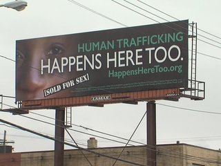 Billboards bring attention to human trafficking