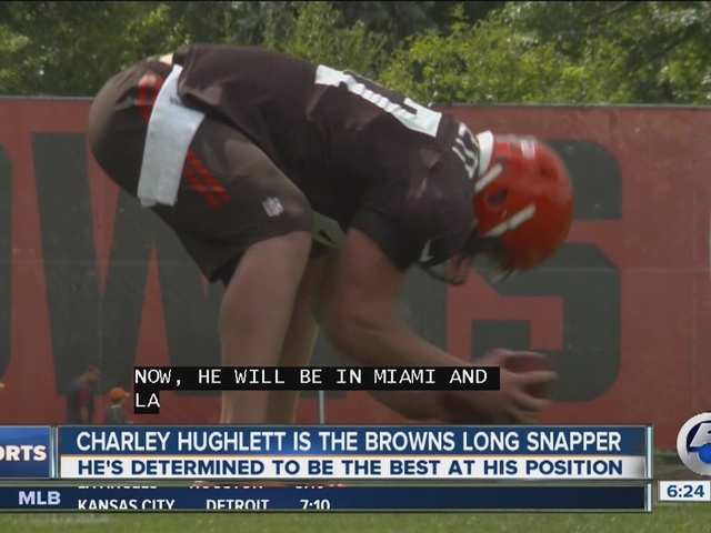 Browns long snapper keeps a low profile