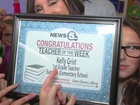 Teacher of the Week: Kelly Grist