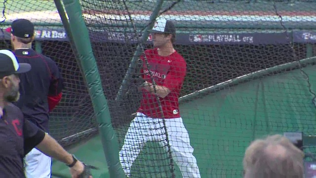 Tyler Naquin talks about the Indians most dramatic play of the year                      WEWS
