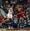 Cavs fall to Bulls as starters sit