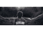New LeBron James banner revealed Saturday