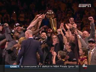 Oct. 25, 2016: A big day for Cleveland fans