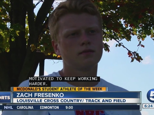 Student Athlete of the Week: Zach Fresenko