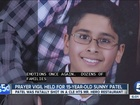 Faith leaders hold prayer vigil for Sunny Patel