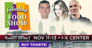 Win 4 Tickets to the I-X Fabulous Food Show!