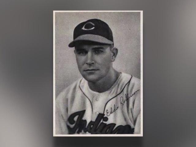 Eddie Robinson Indians oldest player