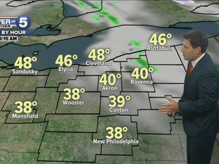 FORECAST: Chilly morning, less wind today