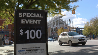 Special event parking prices hurting workers