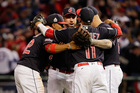 Indians shut out Cubs 6-0 in World Series opener