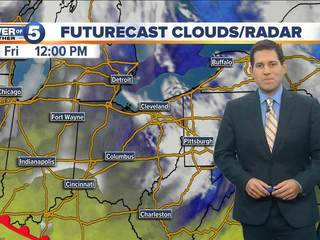 FORECAST: Clouds decreasing & cool, warmer Sat.