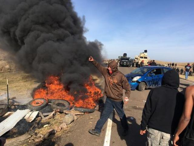 Dakota Pipeline Protesters Stay Near Camp After Days of Tensions