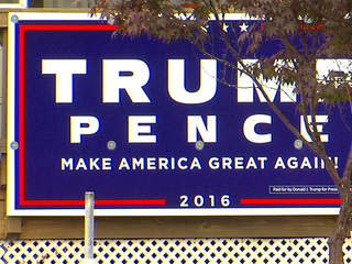 Trump signs stolen out of yards in Willowick