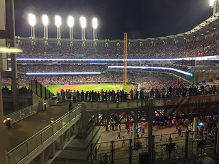 PHOTOS: Tribe fans flock to World Series Game 7