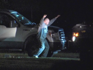 Man takes baby hostage in standoff with police