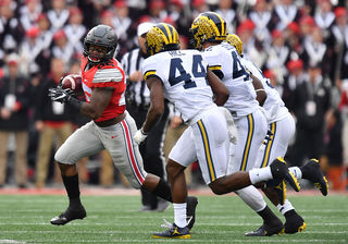 Buckeyes beat the Wolverines in rivalry game