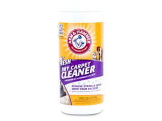 Six brands of dry carpet cleaner recalled