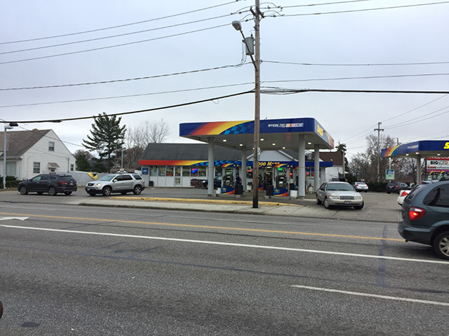Cleveland fbi conducting raids at several gas stations for Cleveland gas station mural