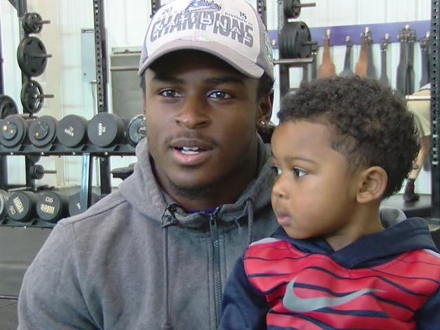 BJ Mitchell on football and fatherhood