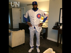 LeBron makes good on World Series bet