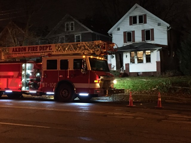 Four killed in Akron house fire