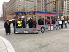 Protesters descend upon Public Square